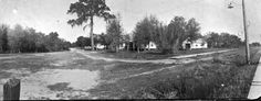Corner of Dixie Avenue and Canal Street - Leesburg, Florida 1916