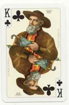 Pagan Limited Edition Uusi Suicide King of Hearts from the Pagan deck. - Google Search