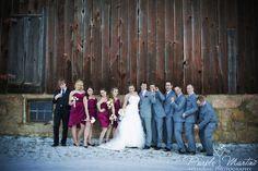 fun bridal party wedding photo www.DianaWhytePhotography.com