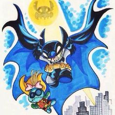 Stitch Batman