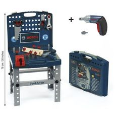 Bosch Tool Shop Workbench - I saw this in myer tonight and think its one of the best kids toys I've ever seen. I want one