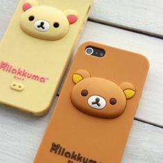 Rilakkuma World - Rilakkuma Plush Toys / Dolls, Phone Cases, Clothes, Bags, and more! Cute Ipad Cases, Cool Iphone Cases, Ipod Cases, Iphone 5c, Kawaii Cute, Kawaii Anime, Coque Smartphone, Kawaii Room, Cute School Supplies