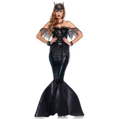 Dark Water Siren Costume
