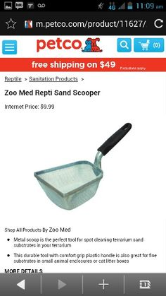 zoo Med repti sand scooper