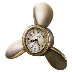 Propeller Arm Maritime Table Clock