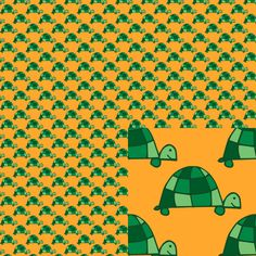 #turtles This is part of my January 2015 series #Tiny Repeats. #EmpireRuhl #patterns