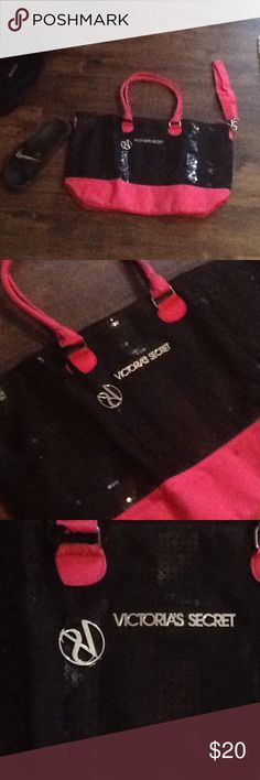 Victoria's Secret Vs bag shoe next bag to show size Victoria's Secret Bags Totes