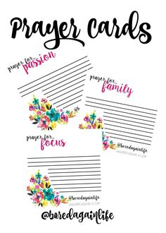 FerVent Prayer Cards