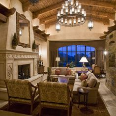 Gorgeous Tuscan Living Room | Room Ideas for the Home ...