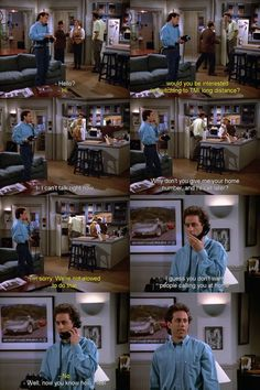 How to deal with telemarketers. Still one of my favorite Seinfeld moments!