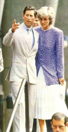 On Tuesday July 7th in 1987, Prince Charles and Princess Diana visited Brixton, in South London.