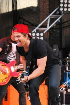 Kip Moore. Saw him once; he seemed like he'd be really down to earth. Great performer, too.