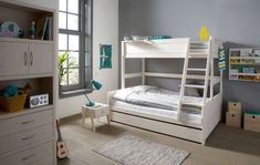 ^^Read about double deck bed. Click the link for more information** Viewing the website is worth your time. Custom Bunk Beds, Cool Bunk Beds, Adult Bunk Beds, Kids Bunk Beds, Double Deck Bed, Family Bed, Family Homes, Triple Bunk Beds, Bunk Bed Plans