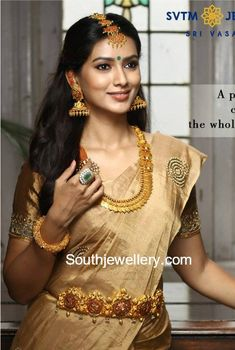 Traditional Gold Jewellery photo