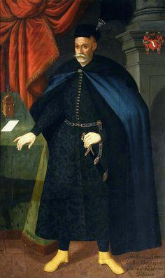 Portrait of Sebastian Lubomirski by Anonymous from Poland, ca. 1613 (PD-art/old), Muzeum Narodowe w Warszawie (MNW)