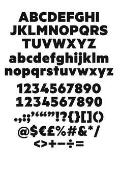 Metric bold 1 - KLIM TYPE FOUNDRY