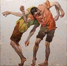 Denis Sarazhin, 'Dancing Men 2', 2017