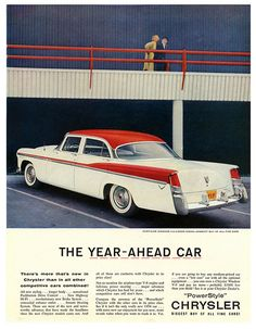 1956 Chrysler Windsor. I will always be a FORD guy at heart, but Chrysler really did make some of the most elegant cars during the 1950s.