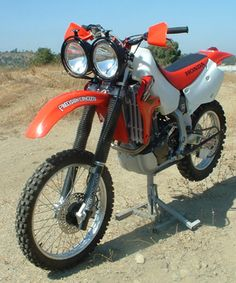 Honda XR650R Baja Designs Lighting and Halo Off-Road world wide outfitters of Adventure Motorcycles and a hole lot more. Halooffroad.com