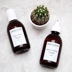 The shampoo & conditioner that makes me feel fresh outta the salon  Click the link in the bio to find out more!  #bblogger #ukblogger #sachajuan #haircare #minimal