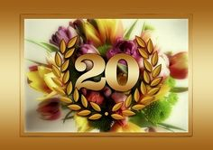 20th Wedding Anniversary Gift List Traditional Modern Flower And