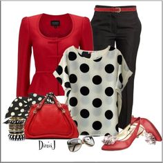 CHATA'S DAILY TIP!: We love polka dots this season – a classic print that never dates! Choose small polka dots if you have a petite frame and medium to large polka dots if you have a medium to fuller frame. COPY CREDIT: Marlise du Plessis http://chataromano.com/consultant/marlise-duplessis/ IMAGE CREDIT: Fashion's Facebook page