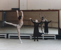 Nikolai Tsiskaridze trained by Galina Ulanova. Photo by Mikhail Logvinov.