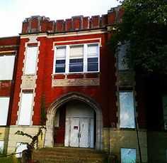 This former school could make great senior,disabled,veterans housing for adaptive reuse,sadly,recently it caught on fire and burnt down. West Virginia History, Historic Properties, Adaptive Reuse, Broadway, Heaven, Country, School, Places, Sky