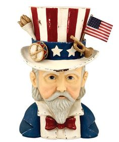 Old Fashioned Uncle Sam Container
