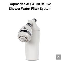 Aquasana AQ-4100 Deluxe Shower Water Filter System #showerheadfilter #showerfilter #aquasana #showerhead Shower Water Filter, Best Bathtubs, Filters, Personal Care, Self Care, Personal Hygiene