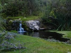 Cascadita en los arroyos de Cabañas Ichacuna, Los Hornillos, Córdoba