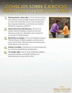 5 Consejos de ejercicios físicos para madres solteras #singlemomsclub