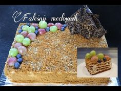 Rychlý nepečený MEDOVNÍK z Lotus sušenek | Videorecept | Dvě v troubě | CZ/SK HD recipe - YouTube Cakepops, Cereal, Food And Drink, Baking, Cupcakes, Breakfast, Youtube, Blog, Morning Coffee
