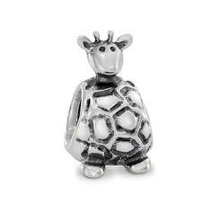 Pandora Silver Giraffe Charm 790274 at John Greed Jewellery