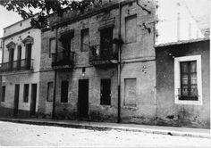 Vista del carrer de l' Estació núm. 14 de Portbou ( Girona). 1942. Autor desconegut. 27490F MMB Author