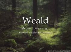 Image result for old english words for nature