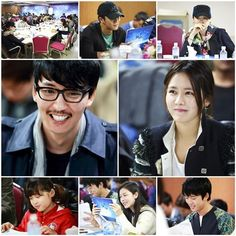 Kim Nam Gil, Son Ye Jin, Honey Lee, and more attend the first script reading for upcoming drama 'Shark'