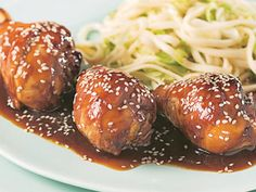 Pilons de poulet, sauce General Tao
