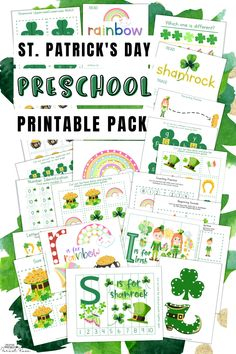 St. Patrick's Day Preschool Pack (141 Pages)