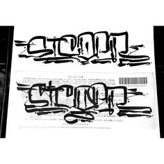 here's another Handstyler Exchange addition by Phobia (@phobia671) for Sicoer (@sicoer) in his signature marker style. #handstylerexchange #sicoer #phobia #graffiti #handstyle