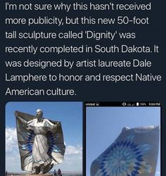 I drove past it last and it was amazing ---Things we need to start remembering The More You Know, Good To Know, Native American, American Indians, American Symbols, American Women, American Art, American History, Religion