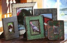 Get a variety of antique picture frames to add an ethnic look to the ambiance, these frames act as a decorative piece when placed in a living room of your home
