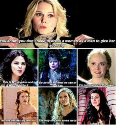 If this show has taught me anything, it's girl power. But not the cheesy kind. The kind where you respect yourselfand, and choose yourself, and make yourself your own super hero.
