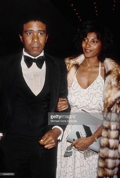 Richard Pryor and Pam Grier circa 1977 in Los Angeles California.