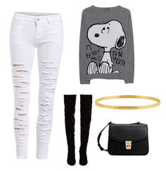 """""""Charlie brown"""" by lupislupis on Polyvore featuring Belleza, Princess Goes Hollywood, Christian Louboutin y MANGO"""