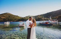 After this summer wedding in Ithaki, we've totally made up our minds. This Ionian island is the perfect scenery for a care free and simple but chic wedding. Greece, Summer, Wedding, Greece Country, Valentines Day Weddings, Summer Time, Weddings, Mariage, Marriage