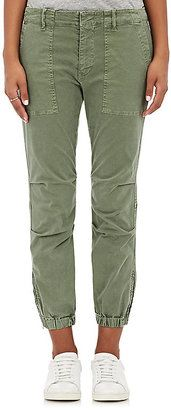 Shop Now - >  https://api.shopstyle.com/action/apiVisitRetailer?id=608866612&pid=uid6996-25233114-59 Nili Lotan Women's Twill Crop Military Pants  ...