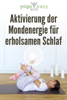 Yoga-Video: Yoga für erholsamen Schlaf With this yoga sequence you can relax in the evening and slee Yoga Meditation, Yin Yoga, Iyengar Yoga, Ashtanga Yoga, Yoga Videos, Video Yoga, Pilates Workout Videos, Workouts, Yoga Inspiration