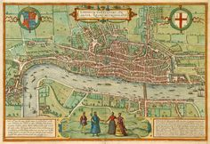 E pensar que um dia Londres já foi assim, hein?! Acho que essa os nossos amigos do @mapadelondres (segue no Twitter!) iam gostar! :)