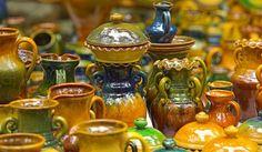 Each region of Latvia had special characteristic shape, ornamentation and color ceramics. Latgale region.